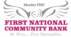 First National Community Bank Logo
